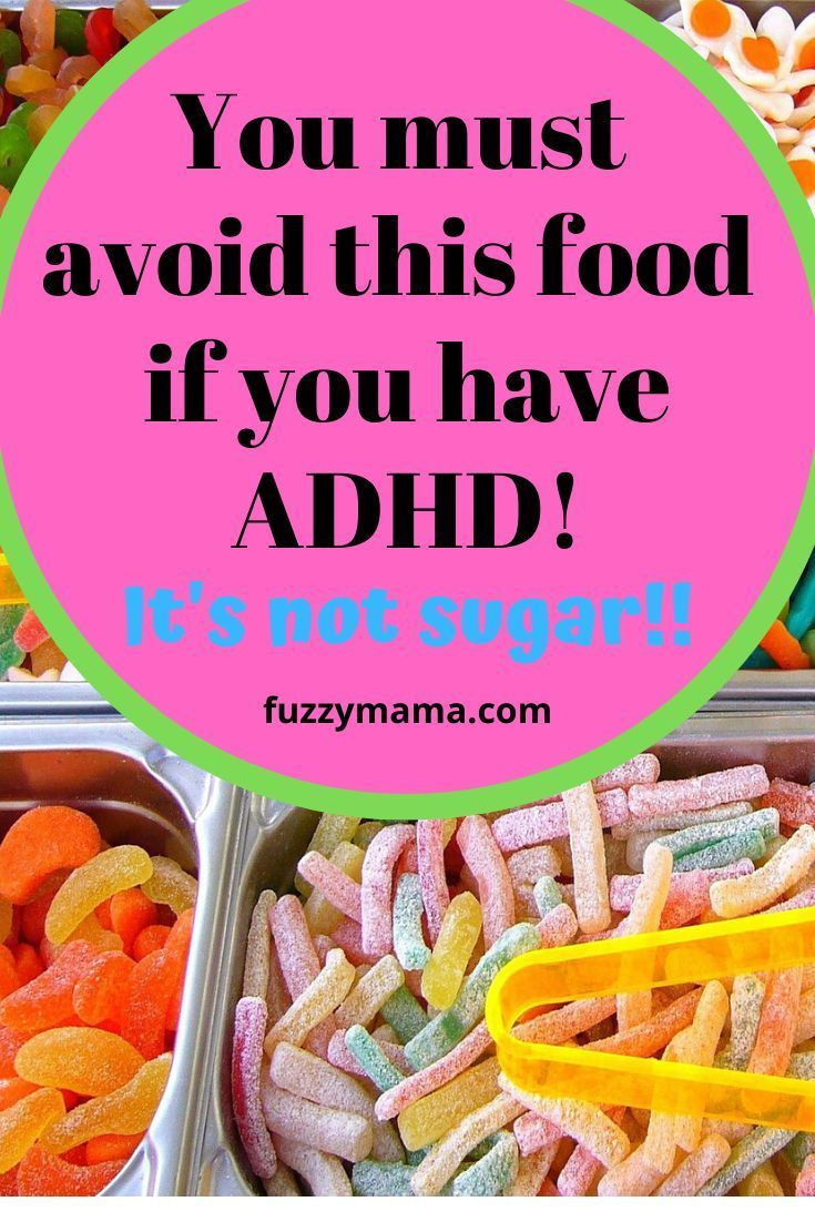 The ADHD Diet and Sugar - Fuzzymama
