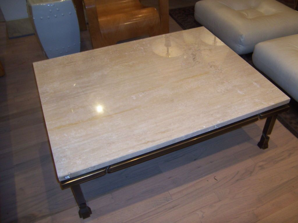 Simple Travertine Coffee Table Stone Tables Low
