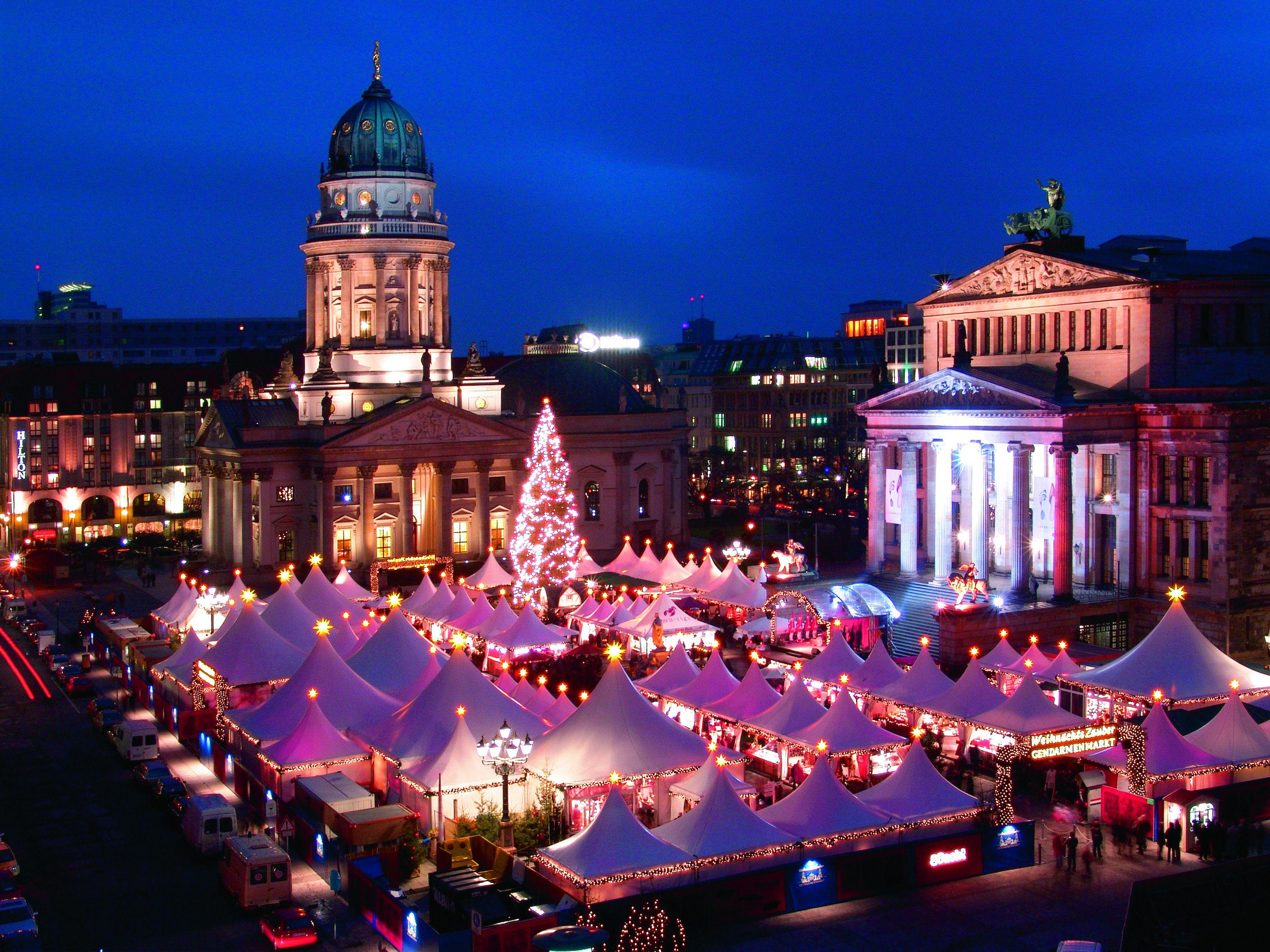 Germany capital Berlin A capital Christmas in Germany's