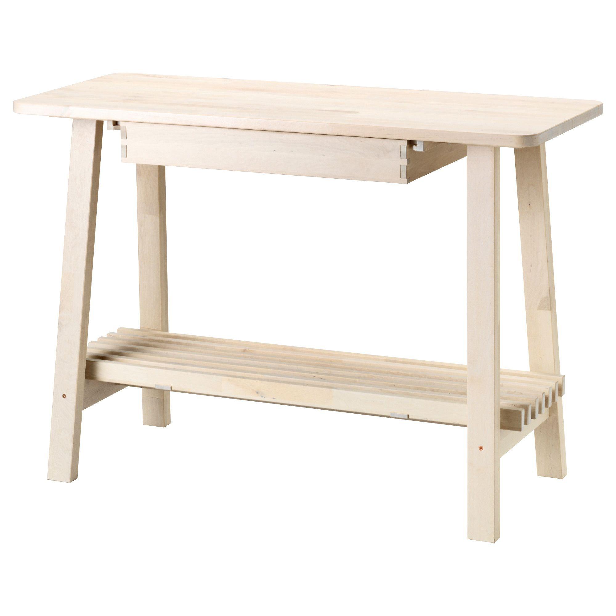 Kitchen Island Ikea Decor: NORRÅKER Sideboard, White Birch In 2019