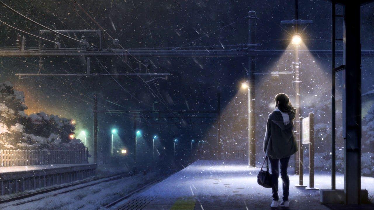 Zmeyev Cold Winter Lo Fi Anime Scenery Anime Wallpaper Anime Background