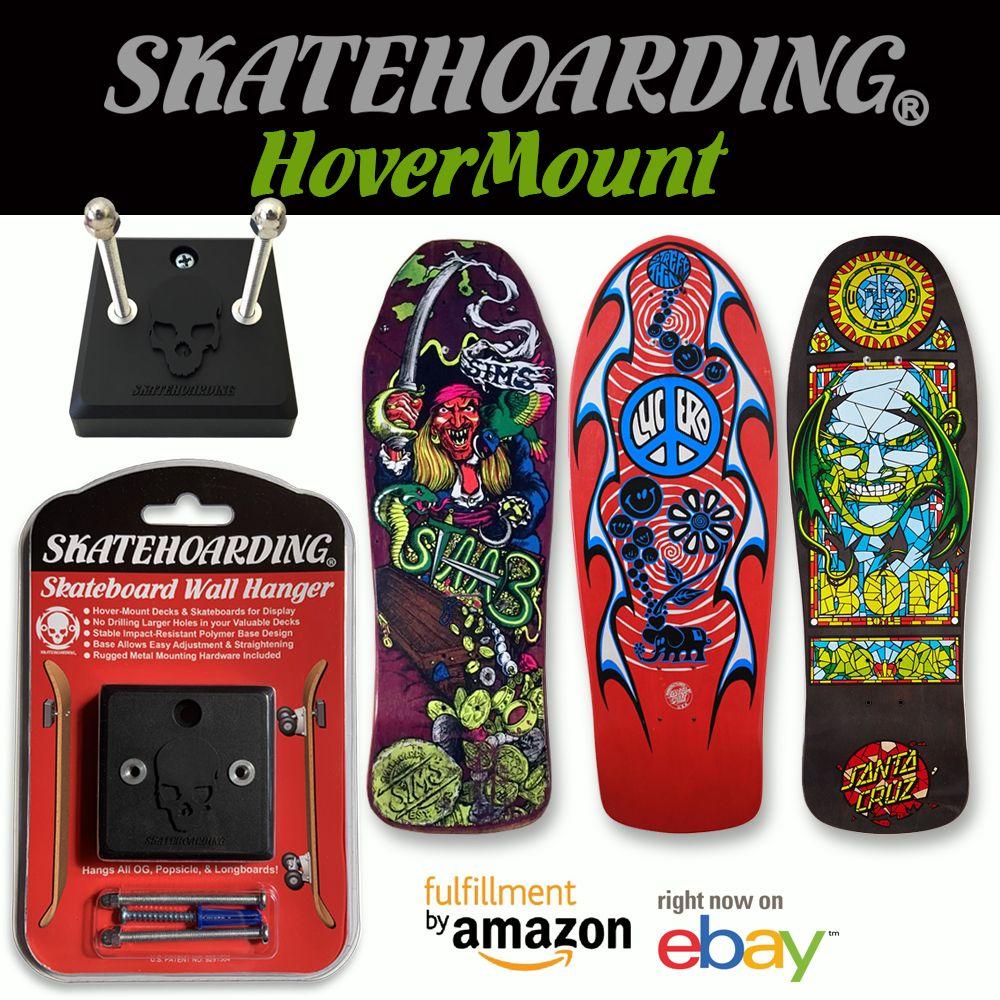 Hovermount skateboards skateboard wall hanger hanger
