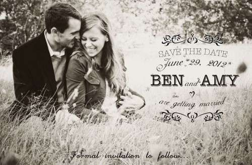 17 Best images about Save the date exemples – Wedding Save the Date