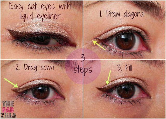 5 Important Do S And Don Ts While Using Eyeliner Easy Cat Eye Liquid Eyeliner Cat Eye Makeup