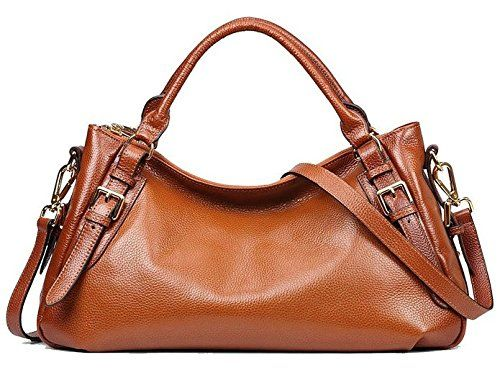 1c9ba6ea76 SZONE Womens Vintage Soft Genuine Leather Tophandle Tote Hobo Shoulder Bag  Messenger Purse Ladies Cross Body Handbags -- Check out the image by  visiting the ...