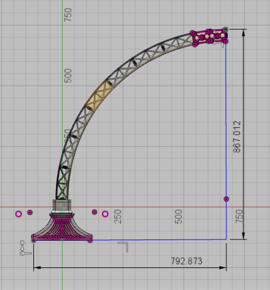 Led Bridge Lamp Universal Segment By Opossums Thingiverse 3d Printing Projects Segmentation Lamp