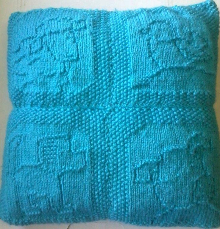 Down Cloverlaine | Knitted squares | Pinterest