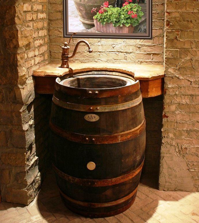 Originales lavabos con piezas recicladas | Baños | Pinterest ...