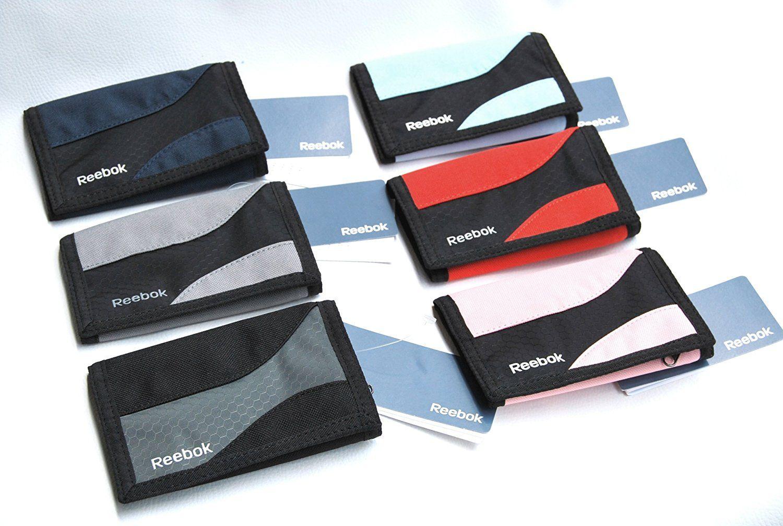 reebok Sport Geldbörse klein Brieftasche Portemonnaie Ausweistasche schwarz grau blau rot pink grau (rosa): Amazon.de: Sport & Freizeit