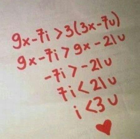 loving you letters math equation that equals quot i you quot l o v e 23515 | 0bffa672f8cce8c49a3ac78f9ea9d749