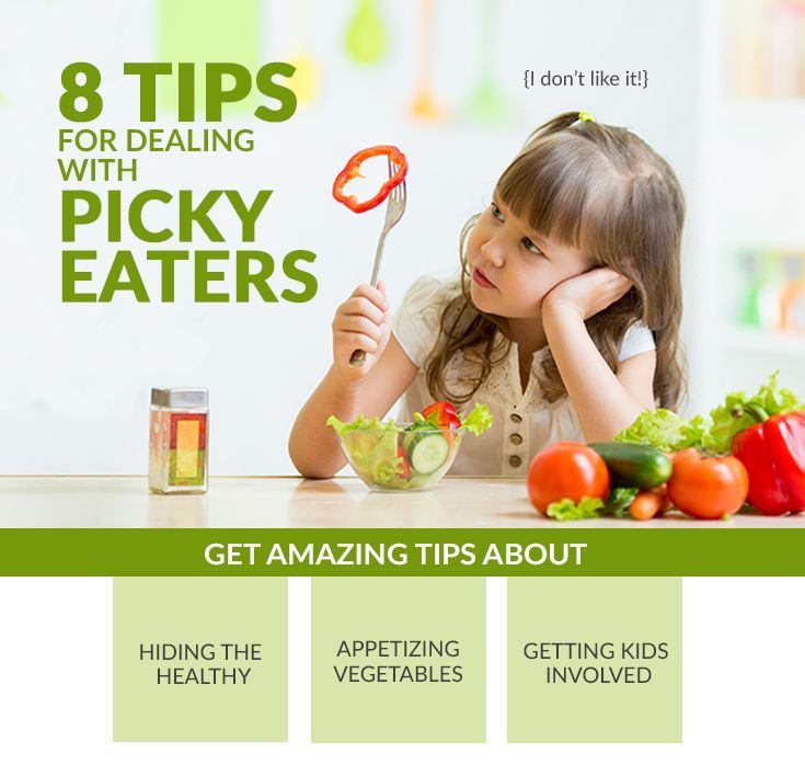 8 Tips for dealing with picky eaters. How to get your kids to eat the healthy foods and actually like them!