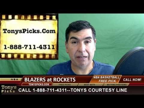 Portland Trailblazers vs. Houston Rockets Pick Prediction NBA Pro Basket...