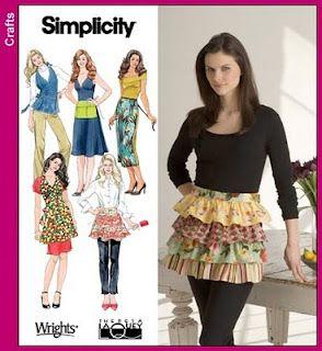 Simplicity 3752 - Misses Aprons