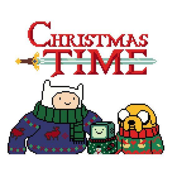 Christmas Time (Adventure Time) - Cross Stitch Pattern | Adventure ...