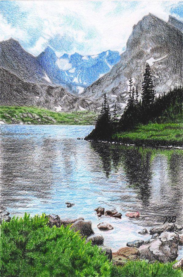 Mountain Lake Mountain Lake Fine Art Prints Lake