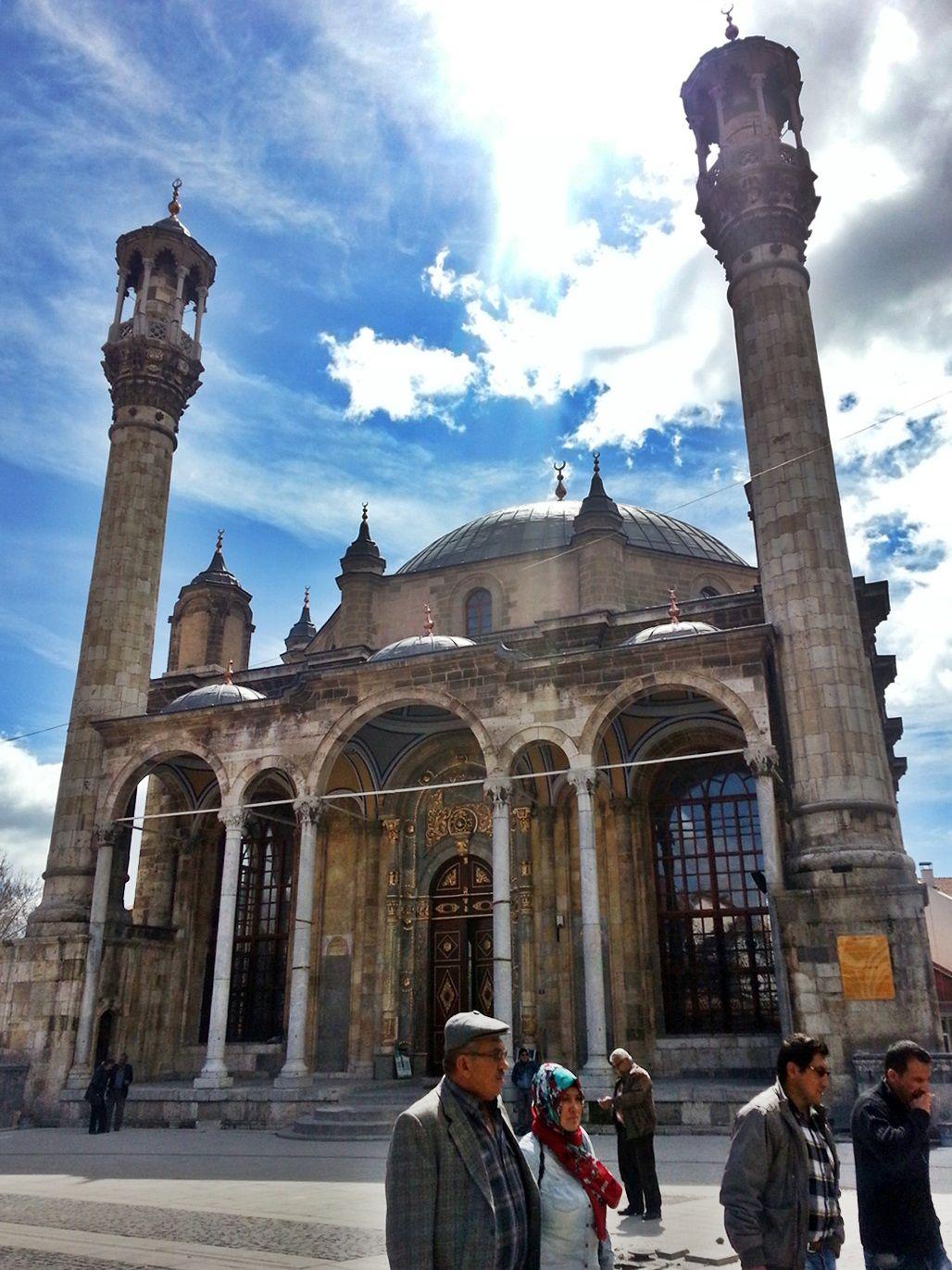 Photograph by Meral Meri  konya Aziziye Cami