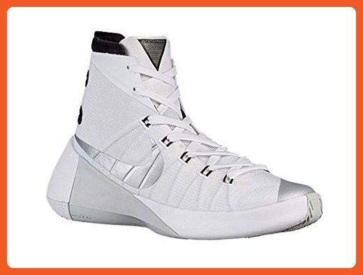 super popular 48f76 7659f Nike Women s Hyperdunk 2015 TB White Metallic Silver Black US 15 M -  Athletic shoes for women ( Amazon Partner-Link)