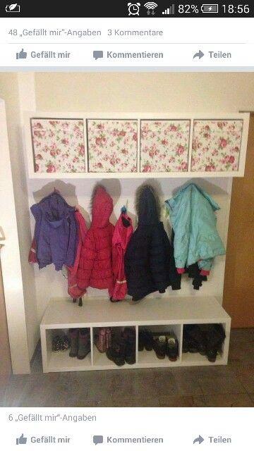 Garderobe garderoben garderobe kinder garderobe for Kleine garderobe einrichten