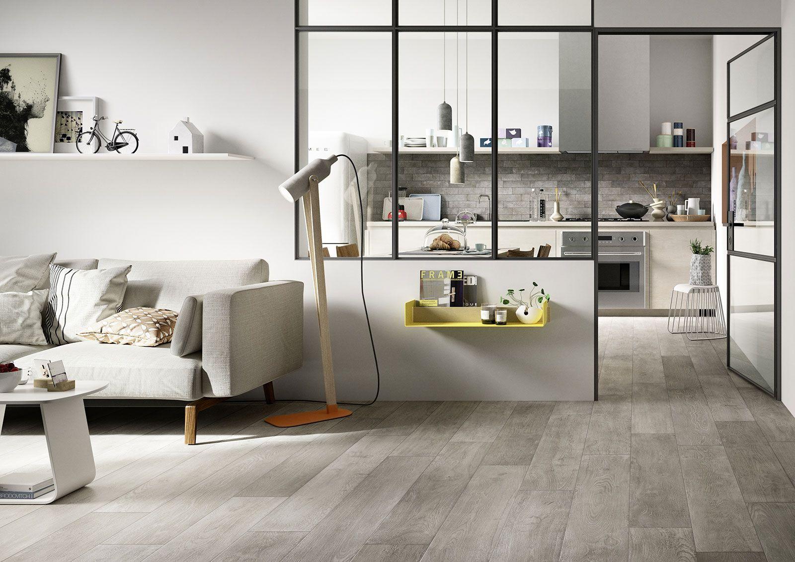 Treverktime u piastrelle per pavimento effetto legno marazzi