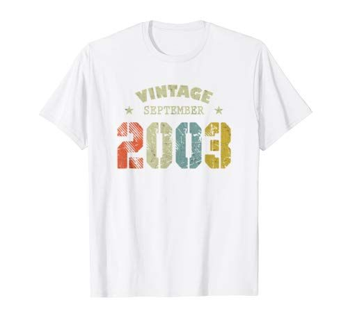 16th Birthday September 2003 Vintage Gift Men Woman Shirt #17thbirthday