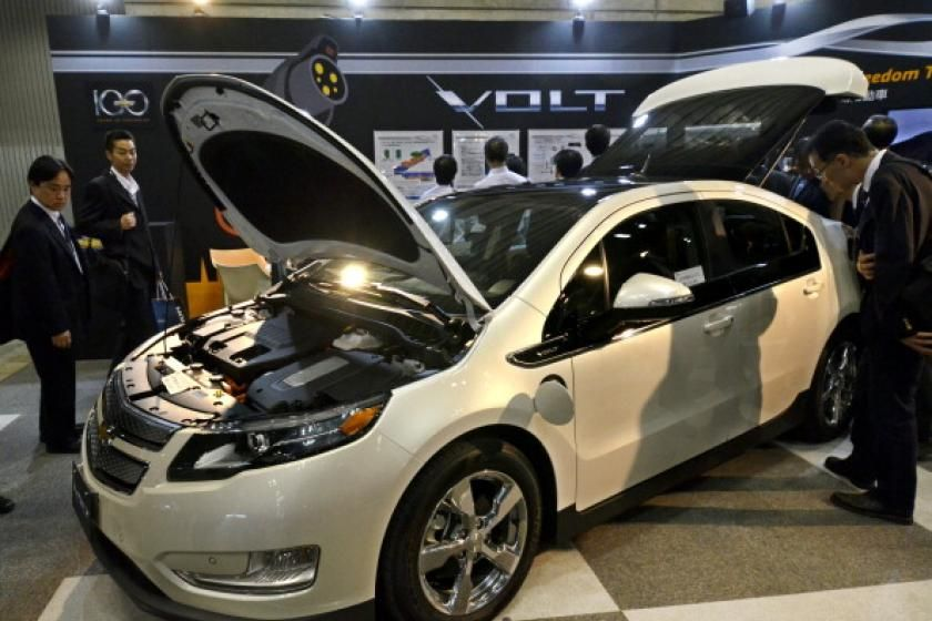 General Motors On Friday Called For National Electric Car