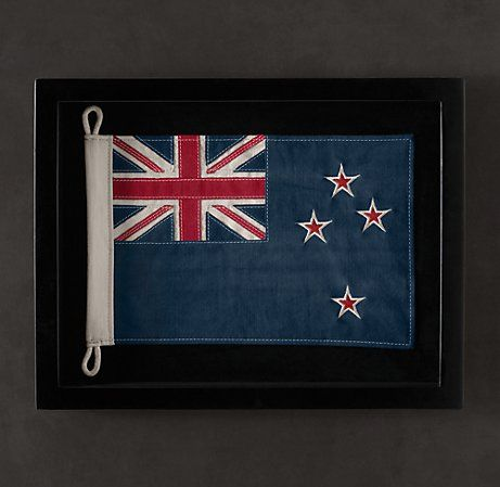 Want To Get This Framed Flag Of Nz But We Re Running Out Of Wall Space Framed Flag Mini Flags Frame