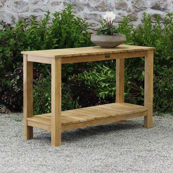 Ventana Console Table Teak Outdoor Furniture Terra Patio