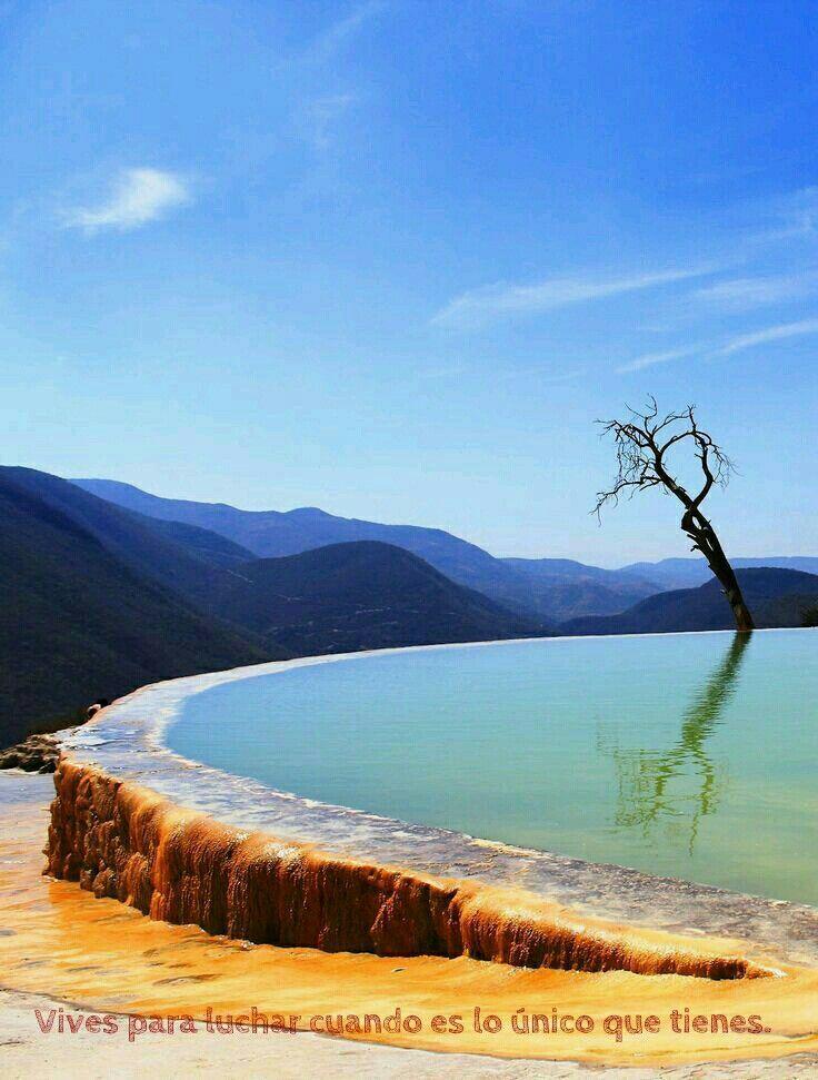 Hierve el agua, Oaxaca  -  Mexico  #Wanderlust #America #12
