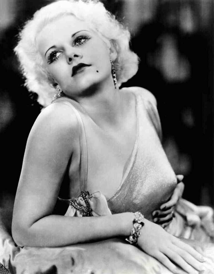 Jean Harlow--the golden years of hollywood's