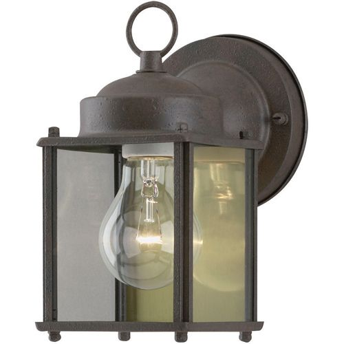 Westinghouse Sienna Finish Outdoor Wall Lantern Fixture