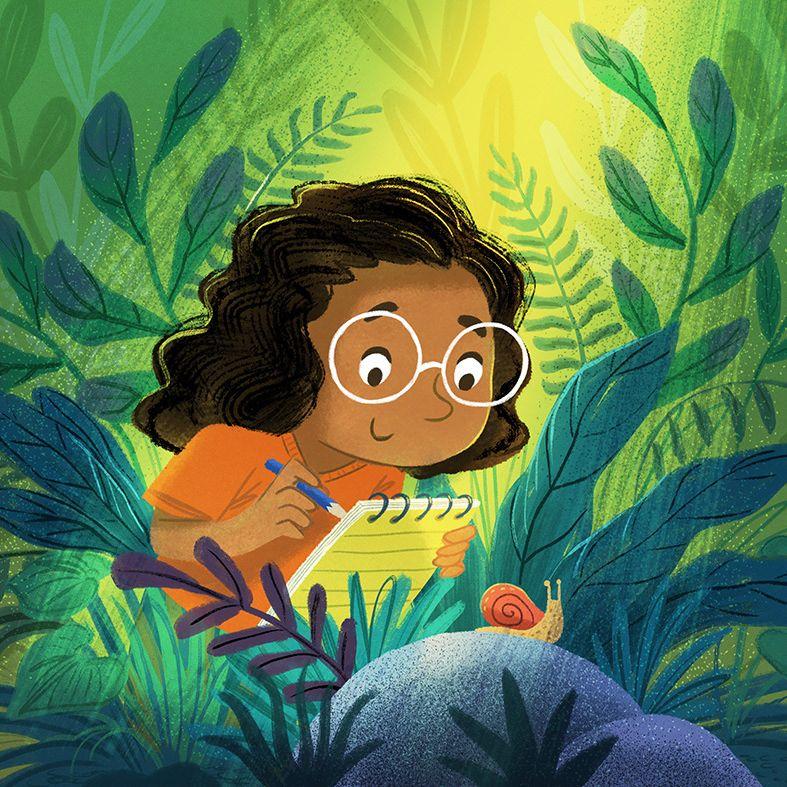 Charlene Chua, illustration | Children's illustrator, Canada - The Snail