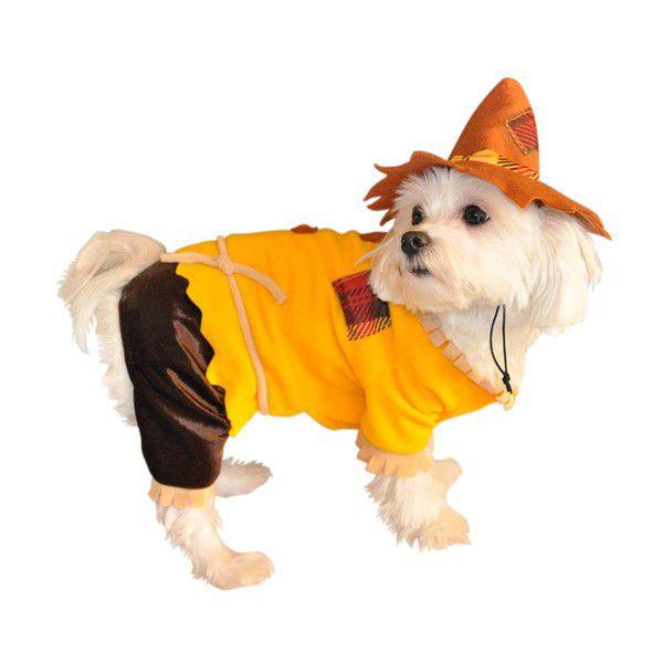 Scarecrow Halloween Dog Costume Dog Halloween Costumes Pet