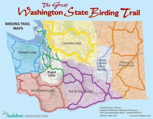 The Great Washington Statebirdingtrailloop Map2011 I