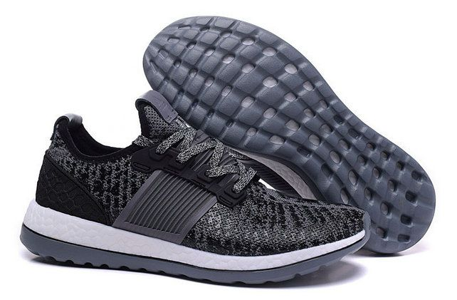 official photos b5a45 5211d Free Shipping Only 69  adidas Pure Boost 2016 Slate Grey Black White