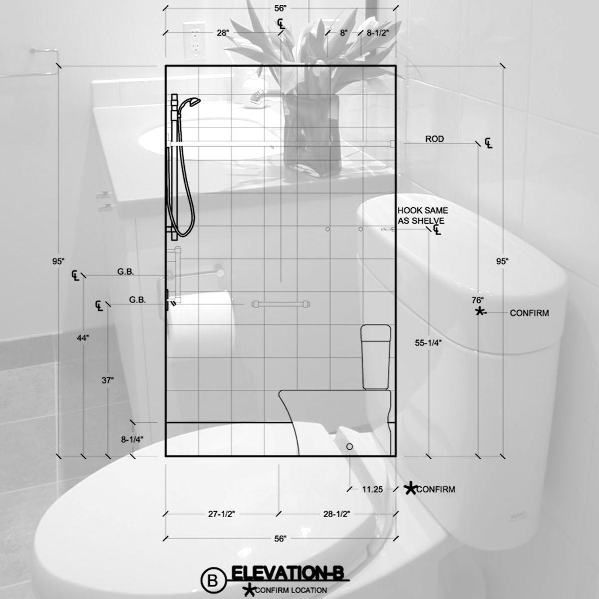 4 x 8 bathroom layout - My Web Value | 5x7 bathroom layout ...