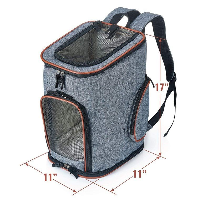 The Best Pet Carrier Backpacks In 2020 Carrier Bags For Pets Pet Backpack Carrier Dog Backpack Carrier Pet Carriers