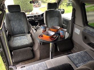 swivel seat coaster motorhomes pinterest. Black Bedroom Furniture Sets. Home Design Ideas