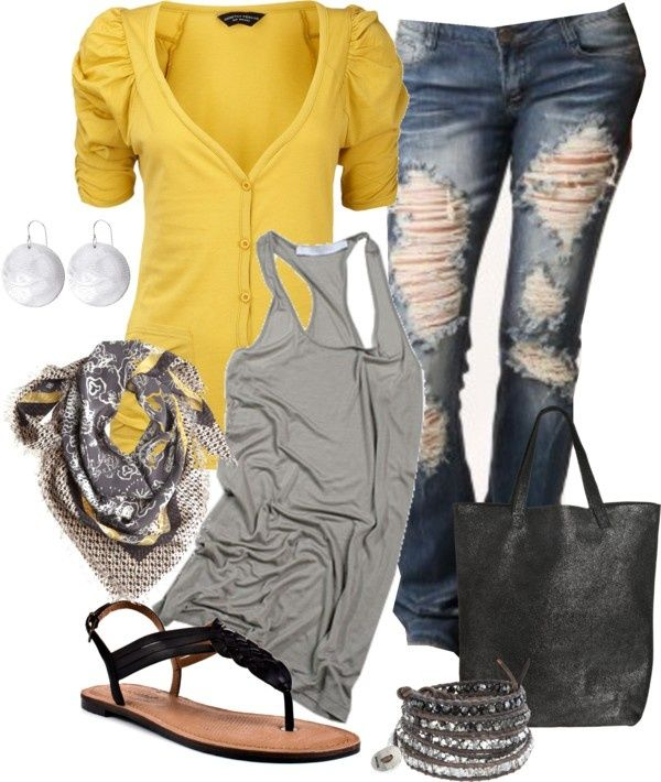 Spring fling by jayneann1809 on Polyvore