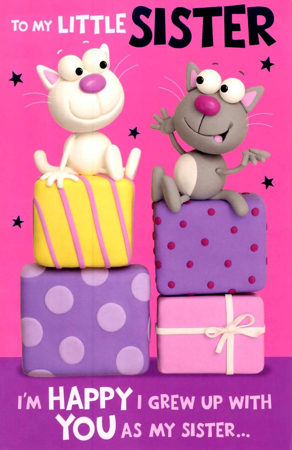 Happy birthday wishes for sister images and pictures Share – Cute Birthday Card for Sister