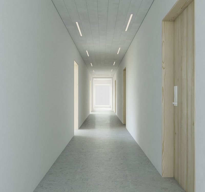 These Wall Panels Have Lights Embedded Within Them Technology Lighting Ceiling Panels Wooden Wall Panels