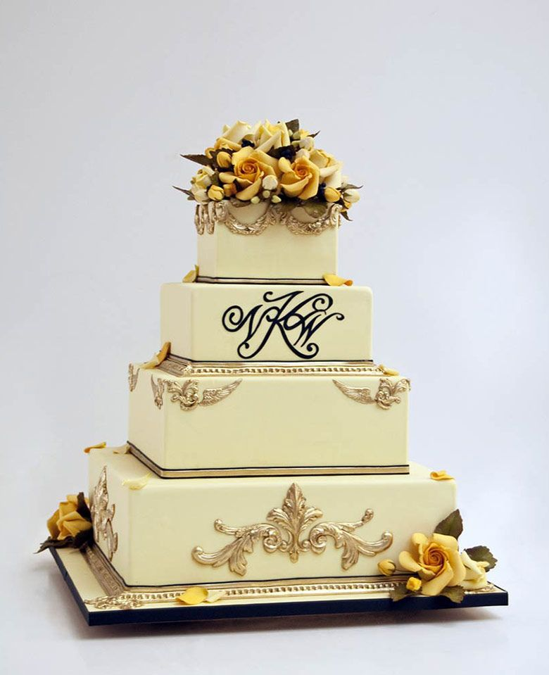 Wedding cakes by Ron Ben-Israel New York City | iPad | Weddings ...