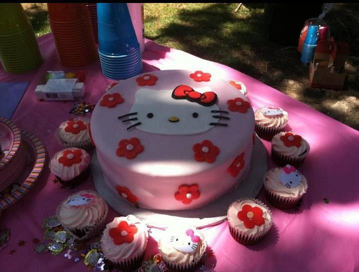 hello kitty cake topper Party ideas Pinterest Hello kitty cake
