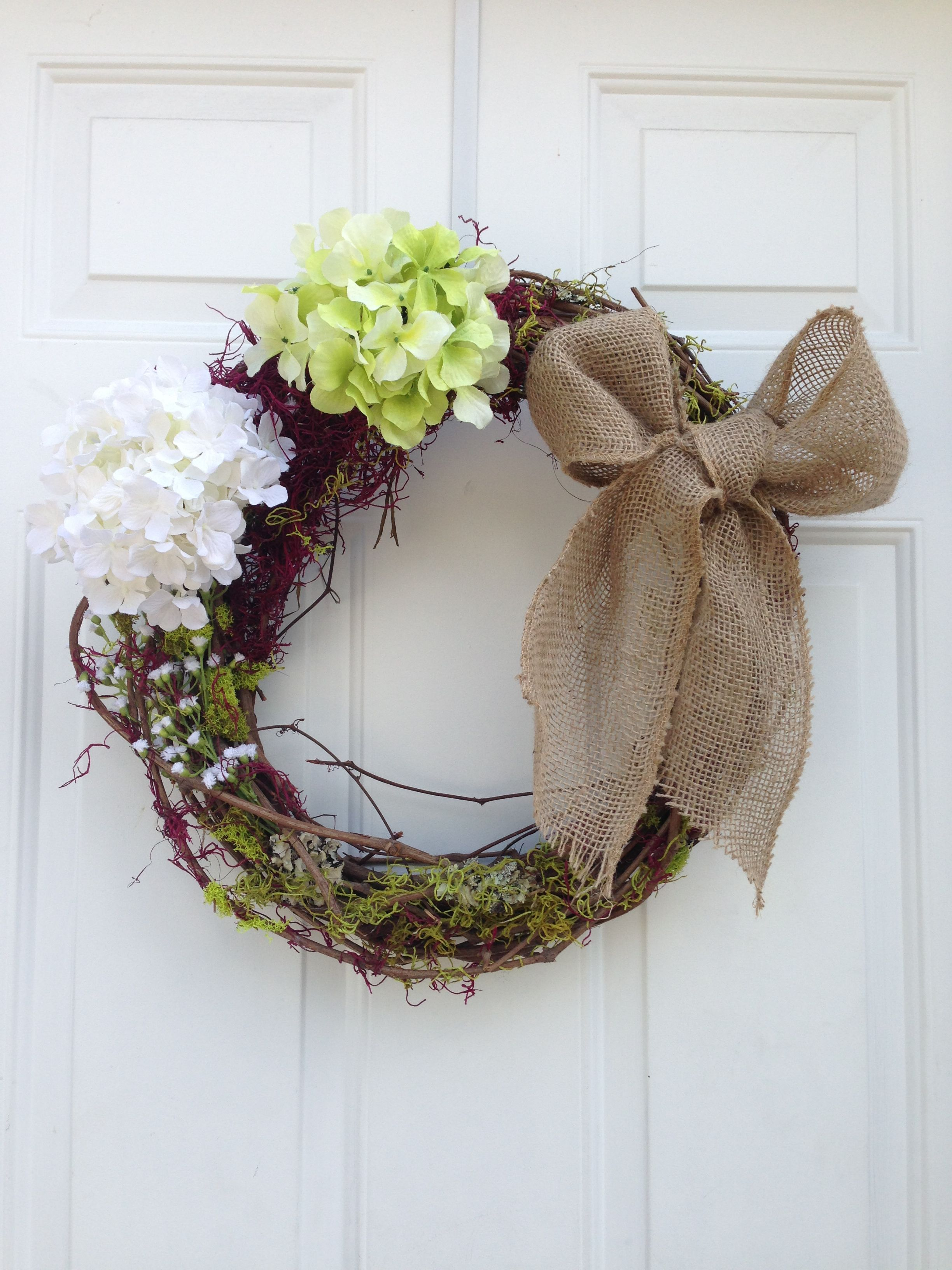 Made my first wreath! #crafty