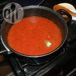 Salsa casera de tomate estilo italiano @ allrecipes.com.mx