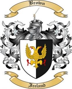 Brown Family Crest from Ireland | Ideas for the House