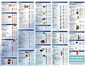 Image Result For Calories In Common Foods Chart Printable Calorie Chart Food Calorie Chart Food Calories List