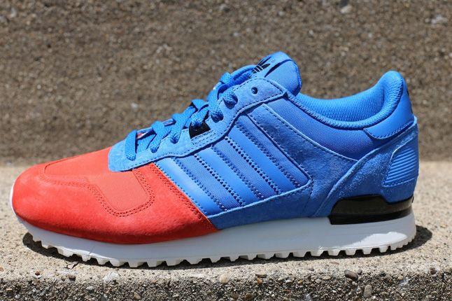 wholesale dealer 45eaf fb868 ADIDAS ZX700 (BLUE RED)