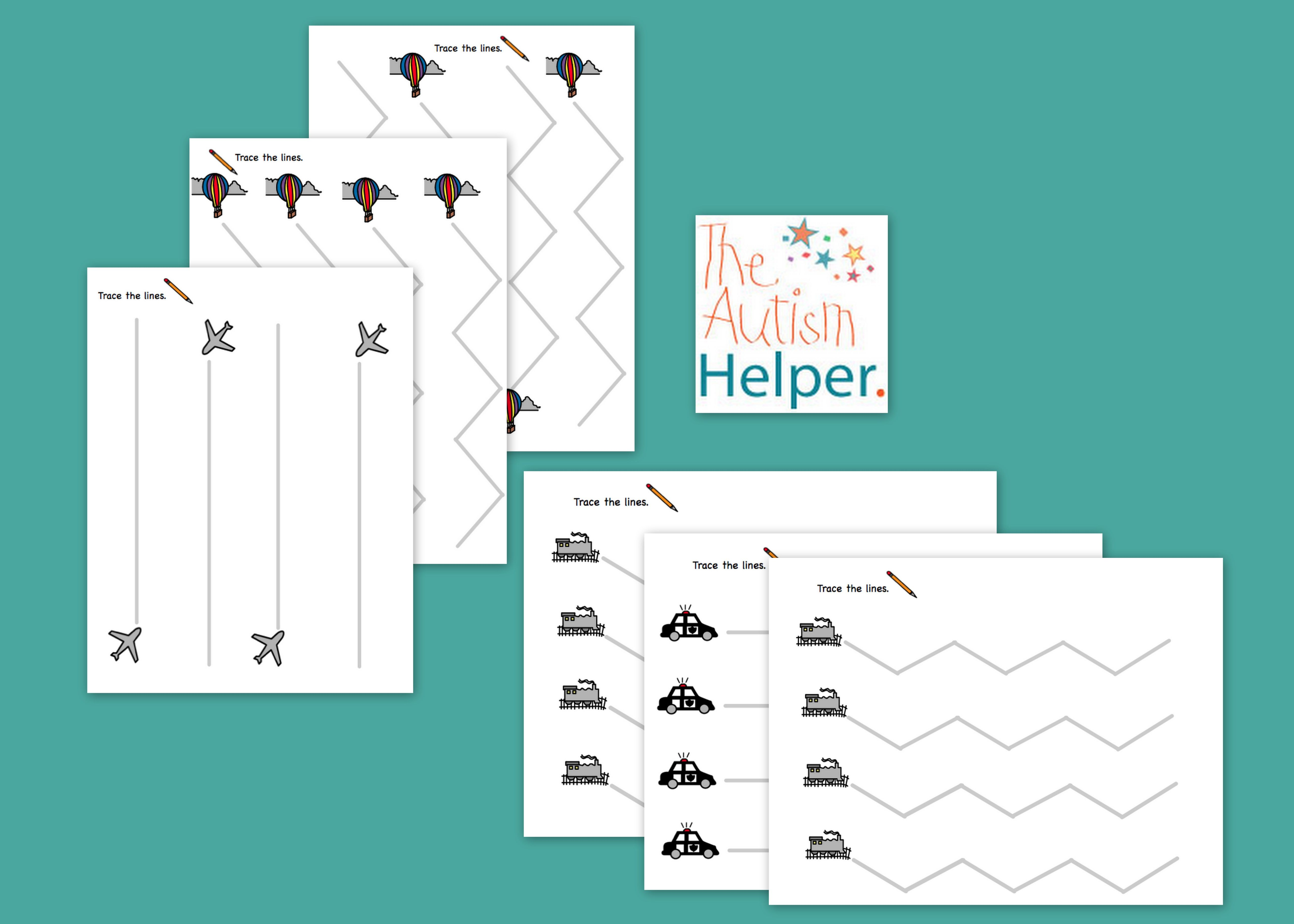 Freebie - Tracing Worksheets | Language Arts for Children with ...