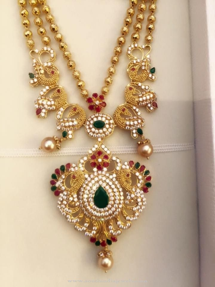 Beautiful Gold Necklace Design | Ball necklace