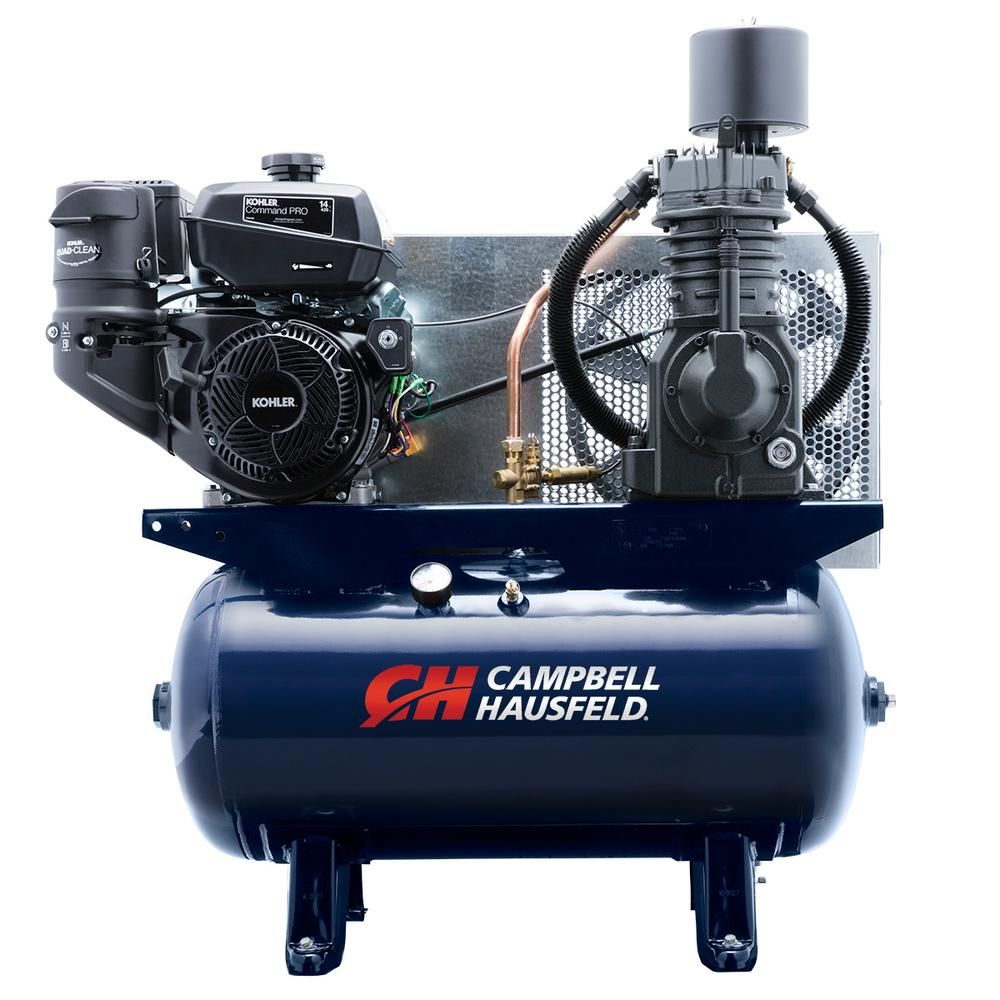 Campbell Hausfeld 30 gal. Horizontal 26.1CFM 14HP Kohler
